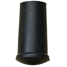 10mm Timber Cane Ferrule Black