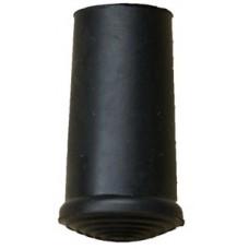10mm Timber Cane Ferrule Black