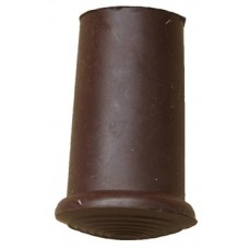 18mm Timber Cane Ferrule Brown