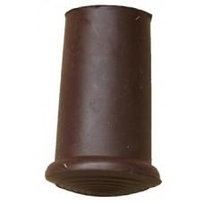 18mm Timber Cane Ferrule Brown