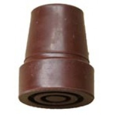 Brown Aluminium Cane Ferrule