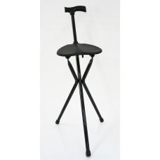Folding Seat Cane - 3 legs